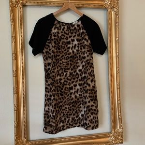 Tobi Leopard Tunic Top